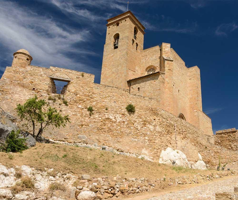 castillo montsec huesca