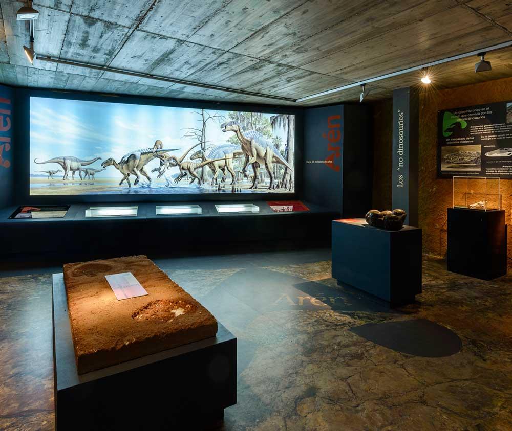 museo de los dinosaurios aren