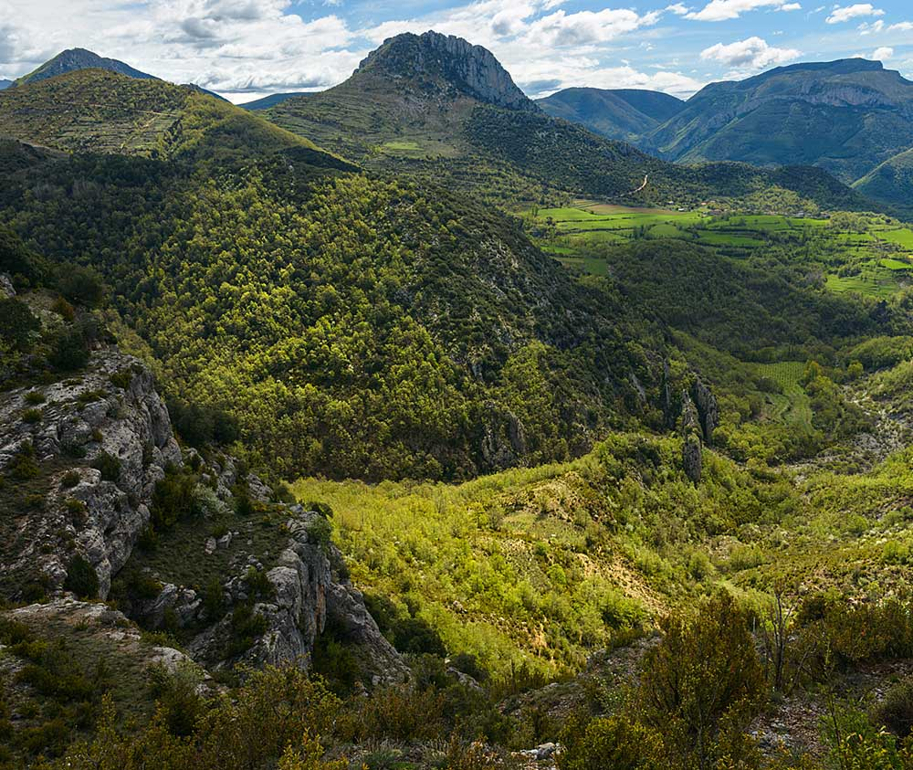 vistas del Montsec