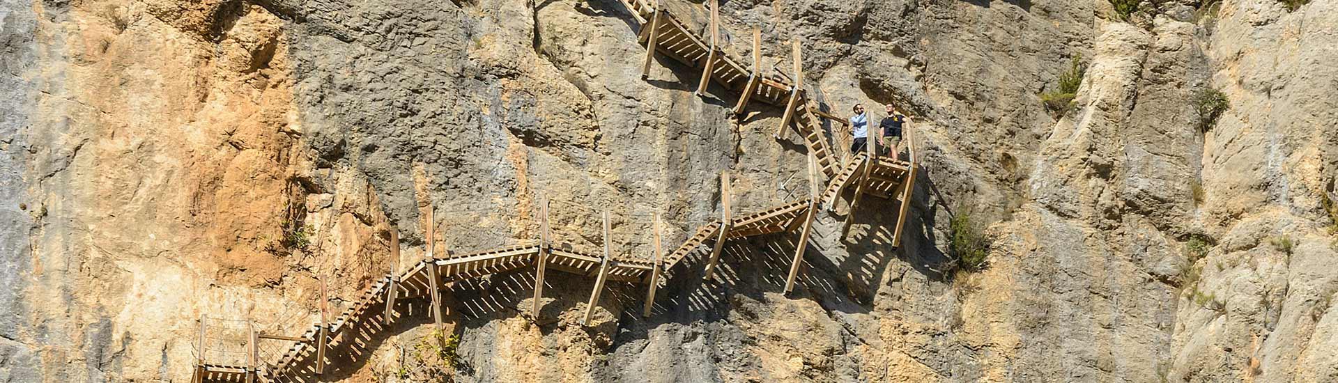 pasarelas de montfalco excursión