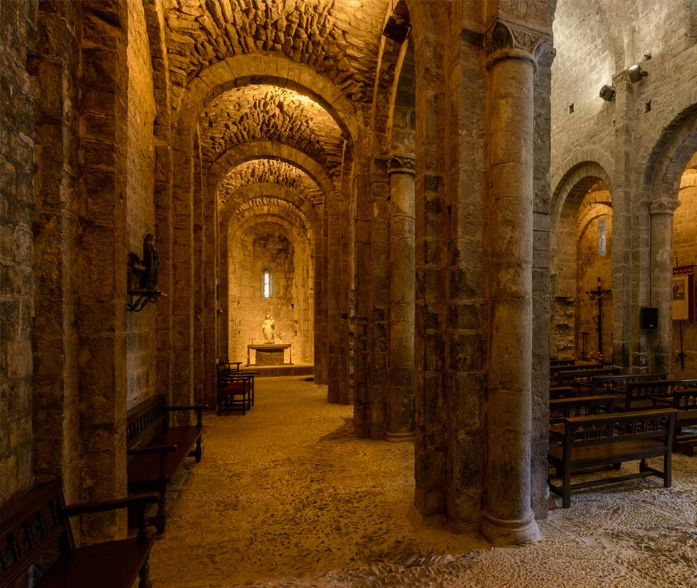 romanico monasterio de alaon