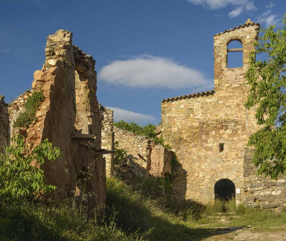 pueblos deshabitados Aragon