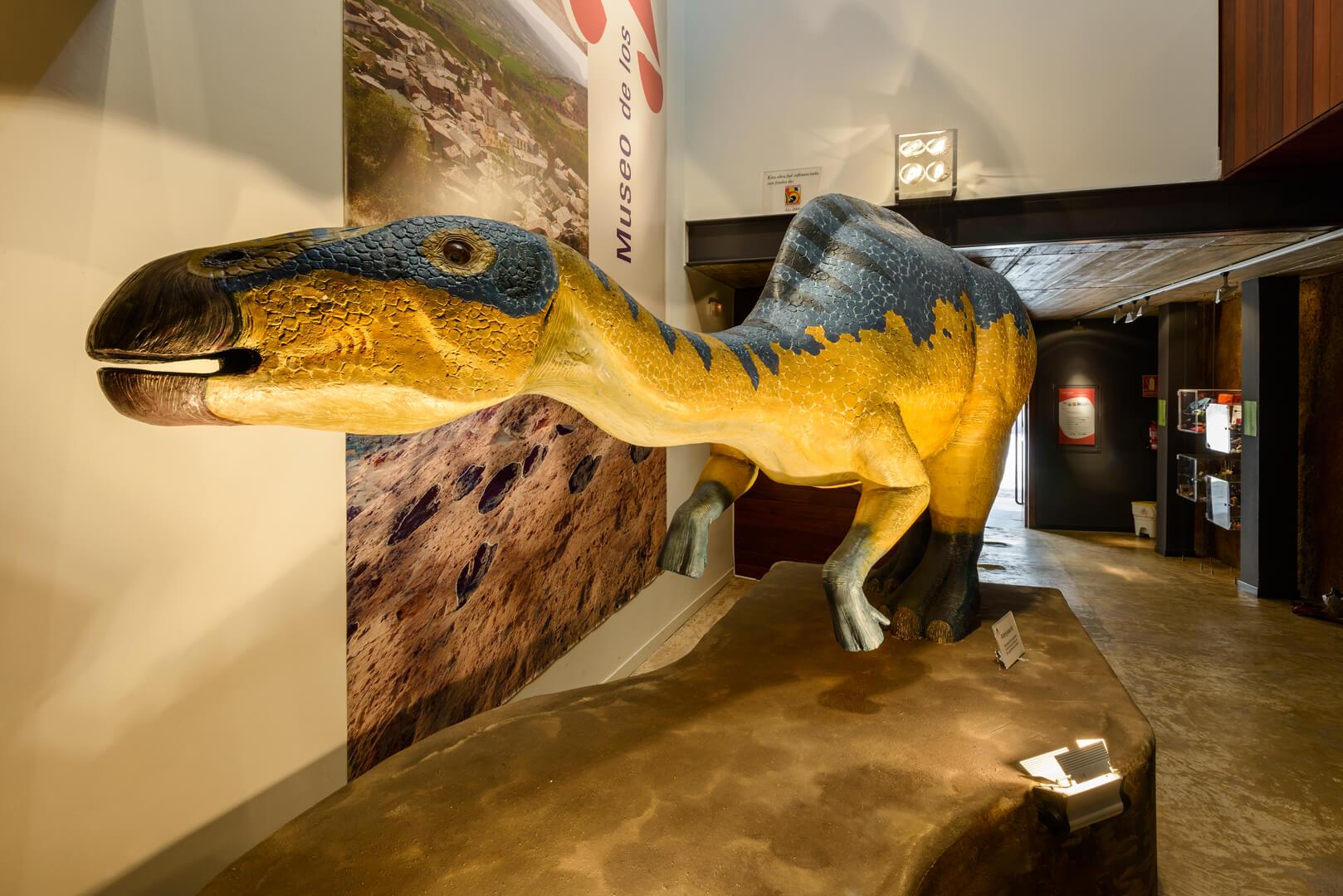 museo de dinosaurios aren huesca