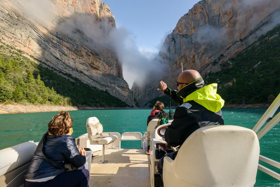 catamaran en Montrebei